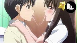 Menina transando em anime rentay gostoso
