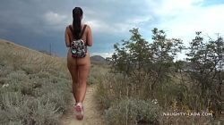 My sister walks around naked